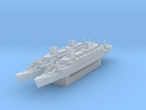 USS West Point (Axis & Allies) in Smooth Fine Detail Plastic