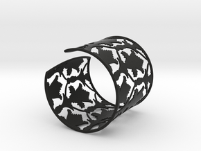 Sherlock Cuff: Solid version - Size S in Black Strong & Flexible