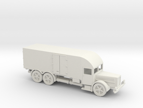 1/144 Vomag Furniture truck in White Natural Versatile Plastic