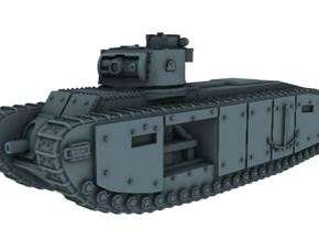 1/100 TOG-1 (Historical) in White Natural Versatile Plastic