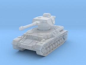 Panzer IV G 1/285 in Smooth Fine Detail Plastic