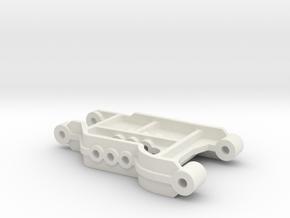 Tamiya super Astute Front Suspension Arm b parts in White Natural Versatile Plastic