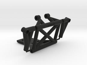 SC10 Wheelie Bar Mount for STRC Wheelie Bar in Black Natural Versatile Plastic