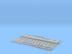 N scale compartment sleeper Type18 in Smooth Fine Detail Plastic
