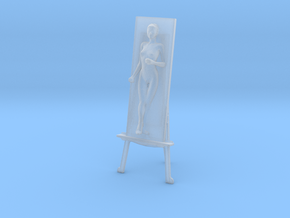 Printle S Femme 1291 - 1/87 - wob in Smooth Fine Detail Plastic