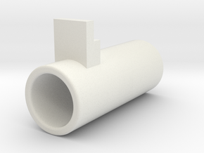 AEP air nozzle improved in White Natural Versatile Plastic