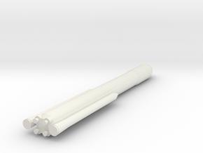 1/1000 Scale SLS Block II Cargo in White Natural Versatile Plastic