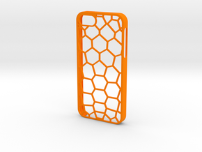 Pentagon iPhone 5/5s Case in Orange Processed Versatile Plastic