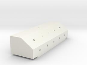 King Hauler Air Line Box #4 in White Natural Versatile Plastic