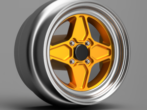 Rotiform GTB 8mm Dia - 4 sets in Smoothest Fine Detail Plastic