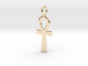 Ahnk (Smooth) in 14K Yellow Gold