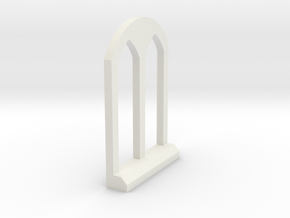 Thomas the Tank Engine Rounded Window 1 in White Natural Versatile Plastic: 1:32