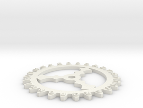 Enigma wheel 2 in White Natural Versatile Plastic