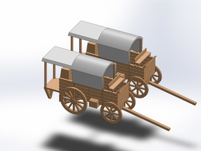 N TWO CHUCKWAGON COOK in Smooth Fine Detail Plastic