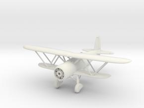 Fiat CR.42  1/144 & 1/100 in White Natural Versatile Plastic: 1:100
