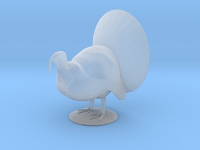 O Scale Tom Turkey in Smooth Fine Detail Plastic