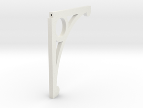 Crovan's Gate Bracket in White Natural Versatile Plastic: 1:32