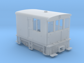 HOn30 23 Ton GE Boxcab in Smooth Fine Detail Plastic