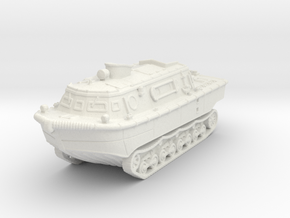 Landwasserschlepper (mid) 1/120 in White Natural Versatile Plastic