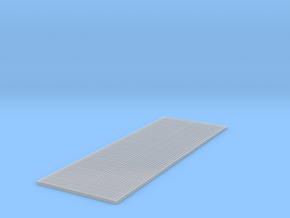 1/64th Diamond Plate raised texture  in Smooth Fine Detail Plastic