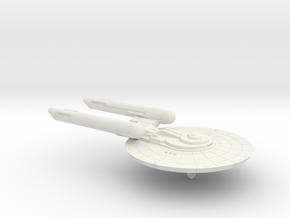 3788 Scale Federation Light Command Cruiser WEM in White Natural Versatile Plastic
