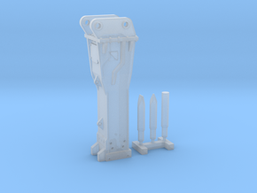 1:50 Hammer for 20Ton excavators in Smooth Fine Detail Plastic