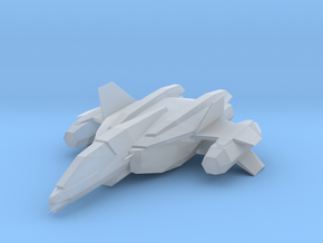 UNSC SABRE in Smooth Fine Detail Plastic