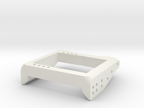 V1W: Servo Mount 70mm in White Natural Versatile Plastic