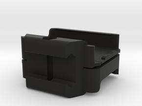RunCam2 Dual Cam Stacked Top Bottom in Black Natural Versatile Plastic