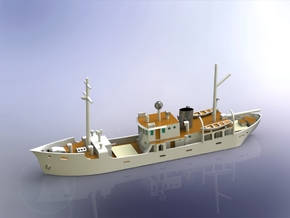 IJN Research Vessel Kaiyo Maru No. 4 1/700 in Smooth Fine Detail Plastic