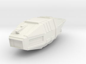 Micromachine Star Wars Tonfalk class in White Natural Versatile Plastic