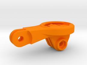 Garmin GoPro BMC Mount in Orange Processed Versatile Plastic