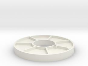 3in Core for Super8 in White Natural Versatile Plastic