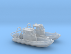 RIB Zodiac hurricane. 1:200 Scale  in Smooth Fine Detail Plastic
