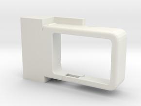 Action cam mount for Snoppa M1 in White Natural Versatile Plastic