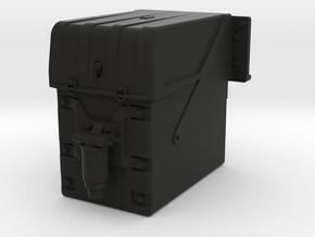 THM 20.403002 Battery box MAN in Black Natural Versatile Plastic