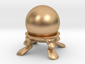 Crystal Ball Miniature in Natural Bronze