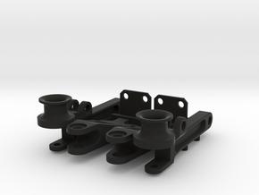 Air suspension front axle in Black Natural Versatile Plastic