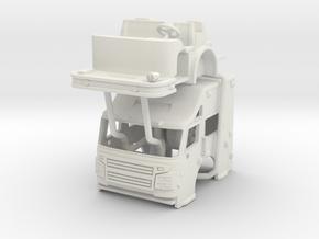 1/87 RosenbauerCommand Cab UPDATED in White Natural Versatile Plastic