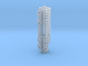 OK T3000 8x8 fire Rev1 in Smoothest Fine Detail Plastic: 1:220 - Z