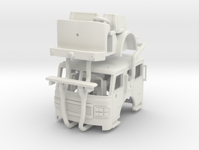 1/87 2013 Philadelphia ALF Ladder 10 or 29 Cab UPA in White Natural Versatile Plastic