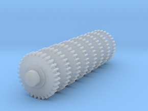 Replacement Floppy Drive Gear for Macintosh in Smooth Fine Detail Plastic: Extra Large