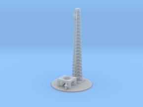 1/1000 Scale Apollo Launch Complex 34 in Smooth Fine Detail Plastic