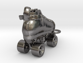 right roller derby skate in Polished Nickel Steel