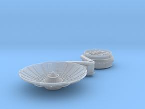 YT1300 DEAGO 5 FOOT DISH W MOUNT 74 MM in Smooth Fine Detail Plastic