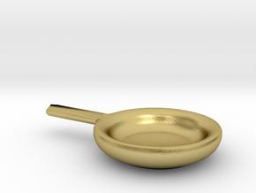 Miniature Pan  in Natural Brass