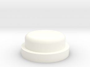 Fire Button - All Materials in White Processed Versatile Plastic