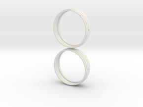 *Proto: 41mm sterile watch case - seiko movement a in White Natural Versatile Plastic