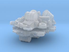 Scrap Junk Pile (x2) 1/160 in Smooth Fine Detail Plastic