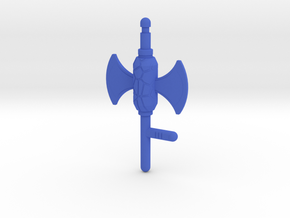 Magmar Power Scepter in Blue Processed Versatile Plastic: Large